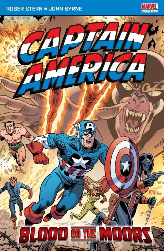 Captain America: Blood On The Moors Cover