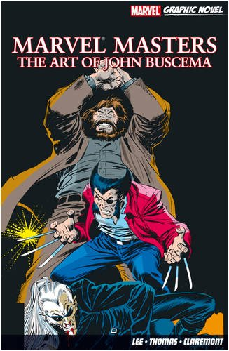 Marvel Masters: The Art Of John Buscema Cover