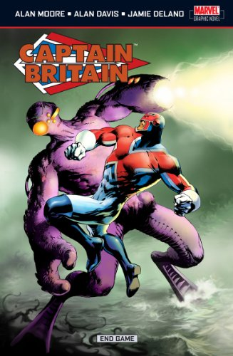 Captain Britain Vol. 5: Endgame Cover