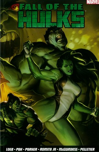 Fall Of The Hulks Vol. 1 Cover