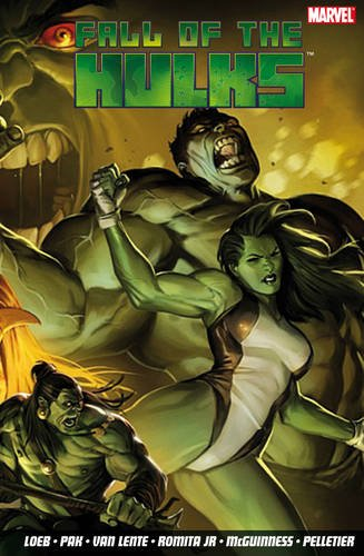 Fall Of The Hulks Vol. 2 Cover