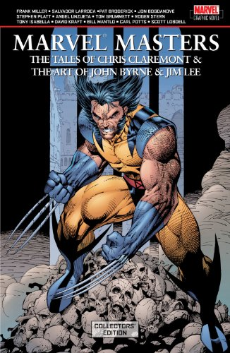 Marvel Masters: The Tales of Chris Claremont And The Art of John Byrne And Jim Lee (Collectors Edition) Cover