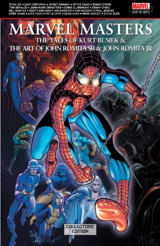 Marvel Masters: The Tales Of Kurt Busiek And The Art Of John Romita Sr. And John Romita Jr. (Collectors Edition) Cover