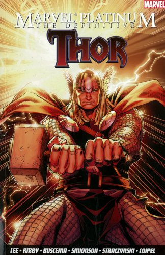 Marvel Platinum: The Definitive Thor Cover