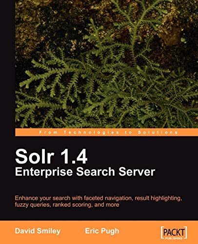 Solr 1.4 Enterprise Search Server