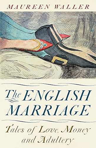 The English Marriage - it has an illustration of a man's legs between a woman's clearly in The Coitus Position. SHOCKING!