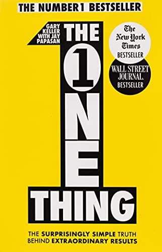 8. The One Thing – Gary Keller; Gary Keller