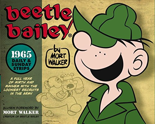 Beetle Bailey: The Daily and Sunday Strips, 1965 cover
