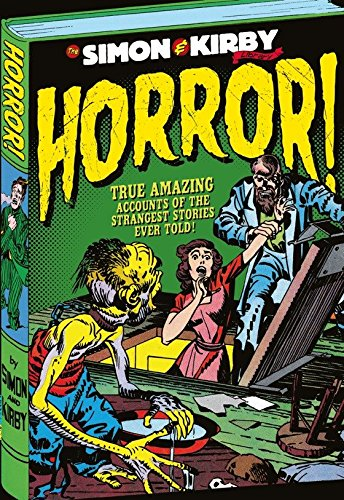 The Simon & Kirby Library: Horror cover