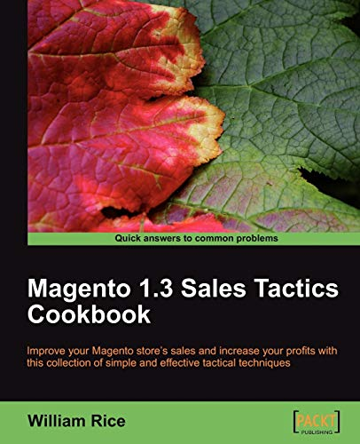Magento 1.3 Sales Tactics Cookbook