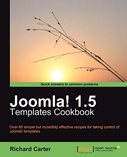 Joomla! 1.5 Templates Cookbook