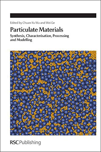 PDF Particulate Materials Synthesis Characterisation Processing and Modelling Special Publications