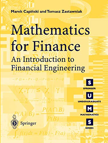 PDF Mathematics for Finance An Introduction to Financial Engineering