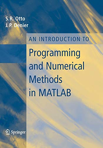 Cover of An introduction to Programming and Numerical Methods