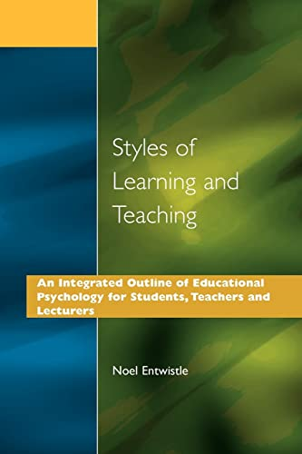 Pdf Styles Of Learning And Teaching An Integrated Outline Of
