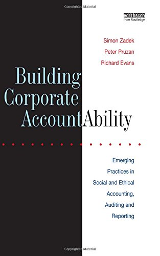 Building Corporate Accountability: Emerging Practices in Social and Ethical Accounting, Auditing and Reporting