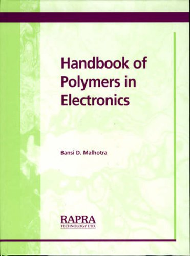 PDF Handbook of Polymers in Electronics
