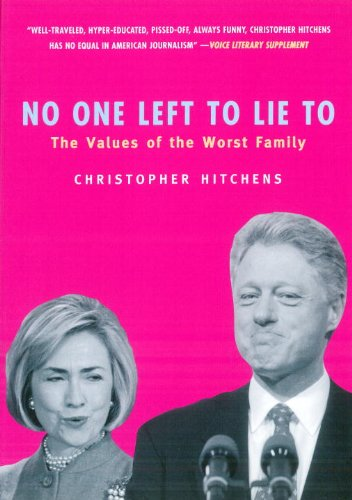 No One Left To Lie To Book Cover Picture
