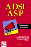 Book Cover: Adsi Asp Programmers Reference By Steven Hahn
