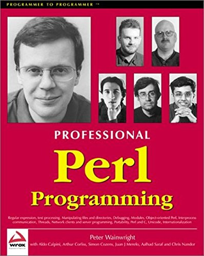 [Professional Perl Programming front page]