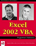 Excel 2002 VBA Programmers Reference