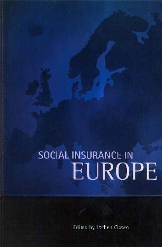 Social Insurance in Europe by Policy Press (Paperback, 1997)