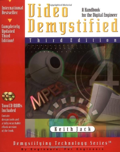 Video Demystified, 3rd Edition, Jack, Keith