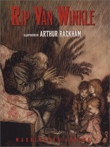 rip van winkle symbolism Free essay: rip's character and symbolism in washington irving's rip van  winkle rip van winkle has been a well-known story told throughout time.