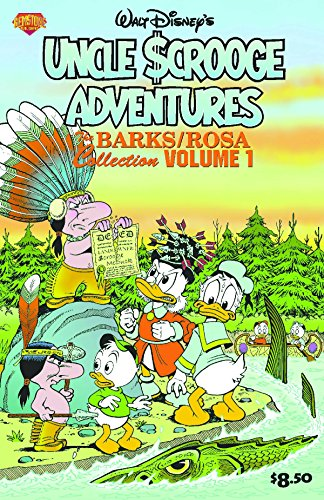 Uncle Scrooge Adventures, Barks/Rosa Collection Vol. 1: Land of the Pygmy Indians / War of the Wendigo