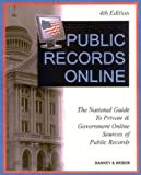 Private and Government Online Sources of Public Records