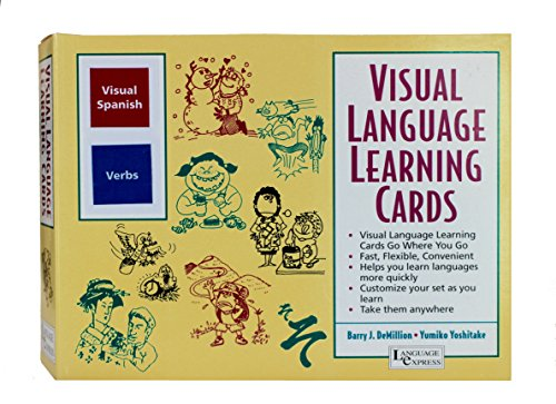 Visual Spanish Verbs (Language Express Cards) (Language Express Cards) (Language Express Cards) (Cards)