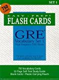 GRE Vocabulary Set 1: With 750 Flash Cards and Study Guide