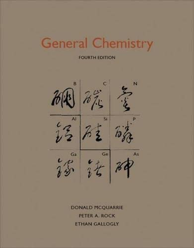 General Chemistry - Donald A. McQuarrie, Peter A Rock, Ethan B Gallogly