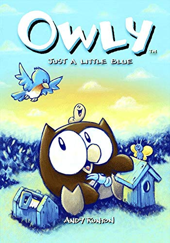 Owly: Just a Little Blue cover