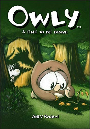 Owly: A Time to Be Brave cover
