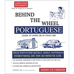 Behind the Wheel Portuguese (8 CD Course) (Behind the Wheel)