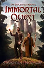 Immortal Quest by Alexandra MacKenzie