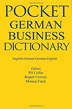 P. H. Collin - German Business Dictionary: English-German/German-English