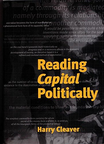 PDF Reading Capital Politically