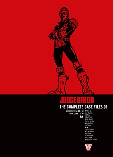 Judge Dredd: Complete Case Files v. 1 (Judge Dredd)