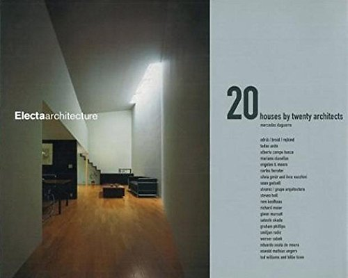 Twenty Houses By Twenty Architects by Mercedes Daguerre