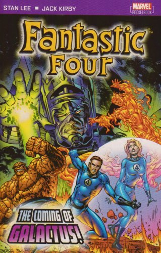 Fantastic Four: The Coming Of Galactus Cover
