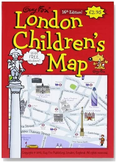 Guy Fox London Children's Map [Folded Map] (Map)