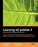 Learning eZpublish