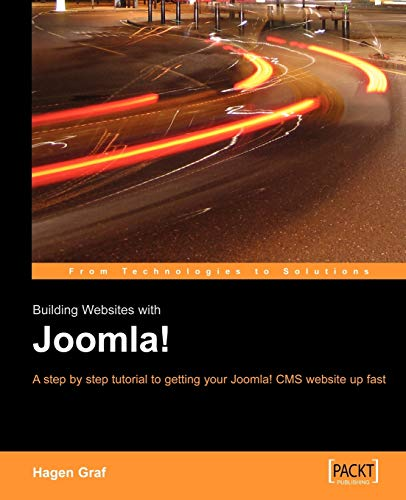 Book Cover: Building Websites With Joomla!: A step by step tutorial to getting your Joomla!