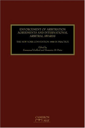 the principles and practice of international commercial arbitration moses margaret l