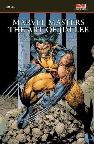 Marvel Masters: The Art Of Jim Lee Cover