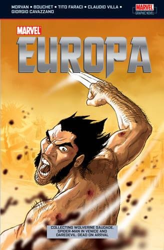 Marvel Europa Cover