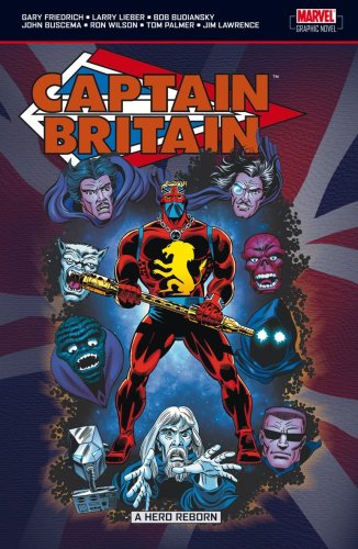 Captain Britain Vol. 2: Hero Reborn Cover