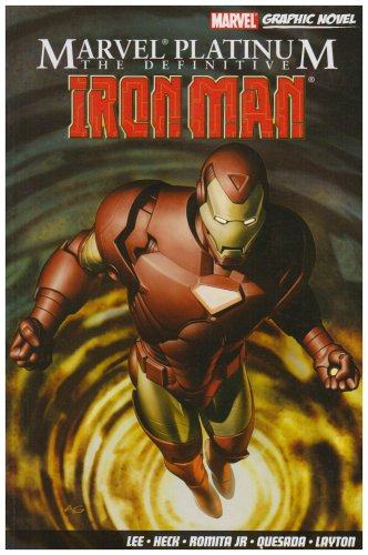 Marvel Platinum: The Definitive Iron Man Cover